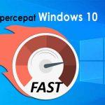 Cara meningkatkan kecepatan windows 10, Work 100%